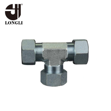 JB1942-77 Carton steel tee union,tee pipe fittings,tee tube fifftings