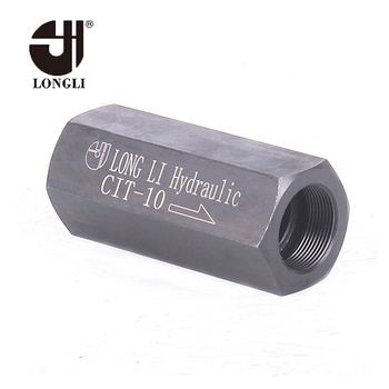 CIT-10 good quality Hydraulic Yuken check control valve