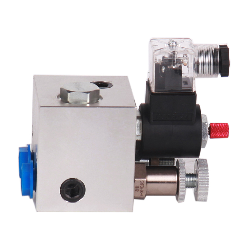 LL123-298 Hydraulic Aluminum mini solenoid lifting block