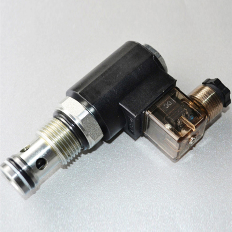 DHF12-220/SV12-20 Two Way Two Position Normally Closed (Poppet Type) Solenoid Cartridge Valve
